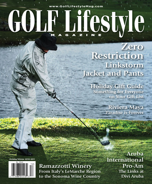Zero Restriction Linkstorm jacket and Pants golf lifestyle cover
