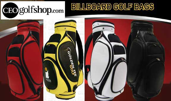 billboard golf bags