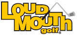 loudmouth golf logo
