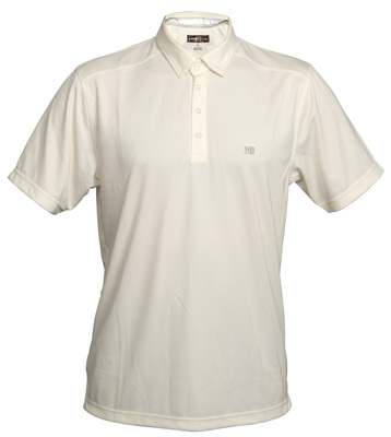 loudmouth golf Jewel shirt cream