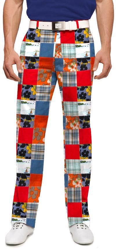 Mens Patchwork Pants patchwork pants