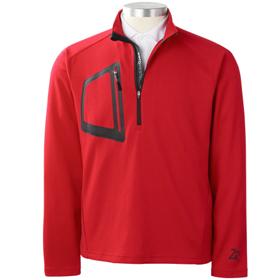 Zero Restriction men's platinum pullover