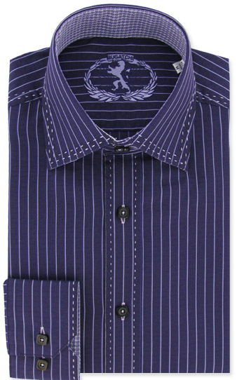 bugatchi uomo mens shirt eggplant purple
